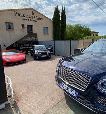 Centre multimarques PRESTIGE CARS