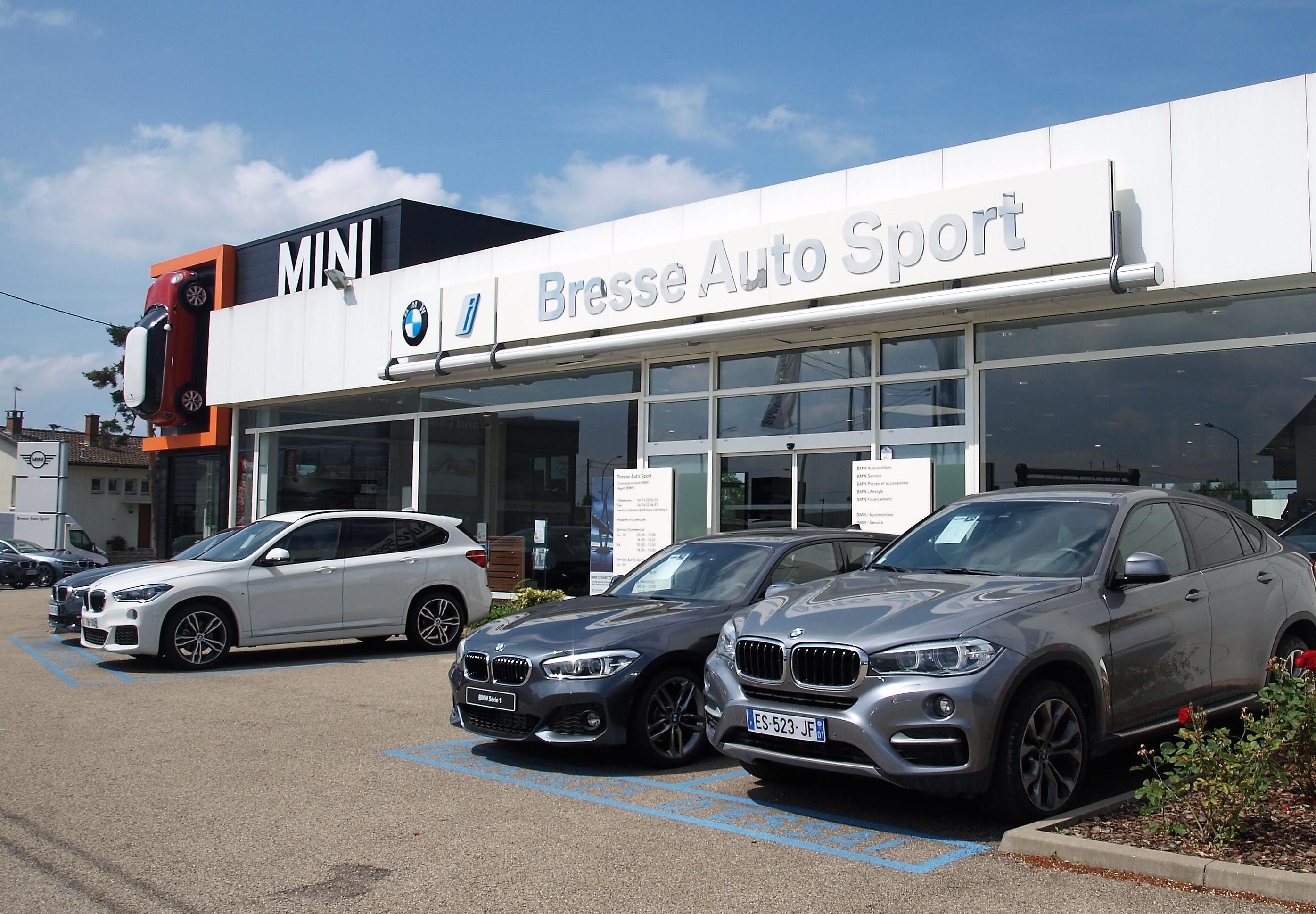 Extremement BRESSE AUTO SPORT : Concessionnaire BMW VIRIAT - Auto occasion VIRIAT CR-08